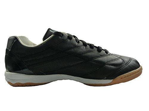 AGLA , Herren Futsalschuhe Schwarz schwarz Schwarz