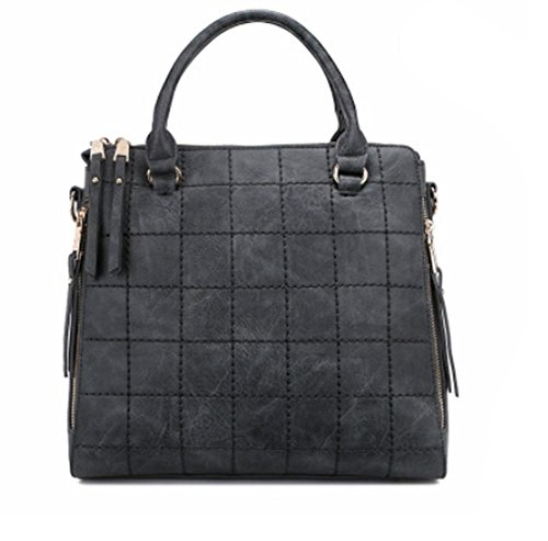 GBT Frau tragbare Schultertasche große Tasche Mode-Handtaschen Messenger gray