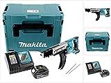 Makita DFR 750 RM1J 18 V Akku Magazinschrauber im Makpac + 1 x BL 1840 4,0 Ah Akku + 1 x DC 18 RC Ladegerät