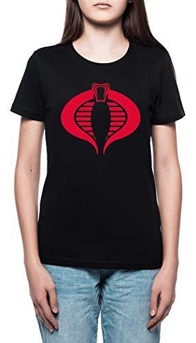 n T-Shirt Rundhals Schwarz Kurzarm Größe L Women's Black T-Shirt Large Size L ()