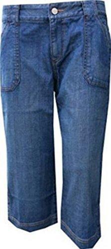Jeans jeanscapri femmes de Eddie Bauer Bleu Haze