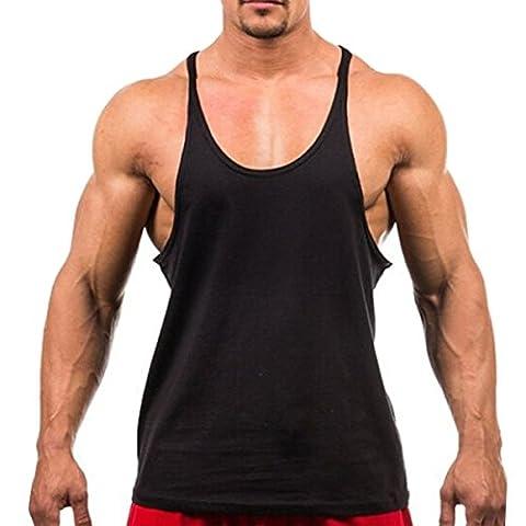Butterme - T-shirt de sport - Homme Noir noir (Maglia Canotta)