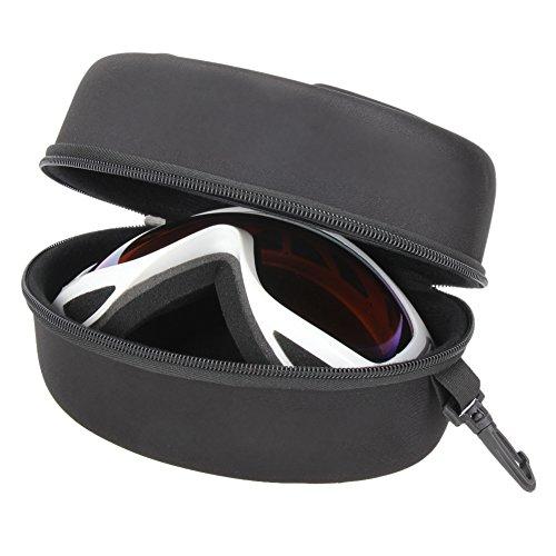 broadroot resistente a los golpes Gafas de esquí gafas de caso caja c