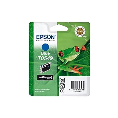 Epson T0549 Tintenpatrone Frosch, Singlepack blau