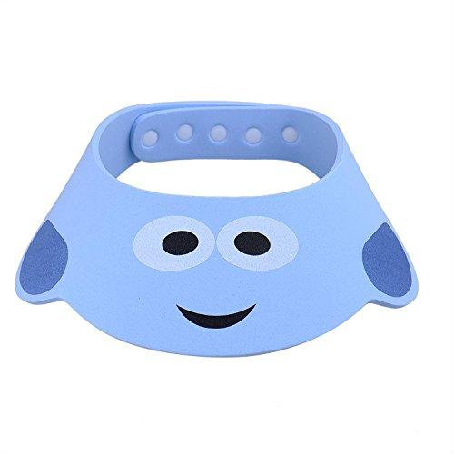 2-pcs-baby-kids-cartoon-ajustable-gorro-de-banera-y-ducha-segura-champu-bano-gorro-de-ducha-cap-blue