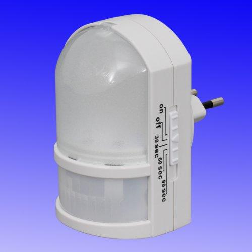 LED Nachtlicht mit Bewegungsmelder - Sicherheitslicht mit Automatikfunktion direkt 230V ©Trango-Brilon-Leuchten