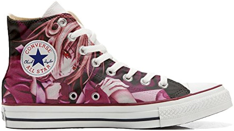 Shoes Custom Converse All Star  personalisierte Schuhe (Handwerk Produkt) Manga
