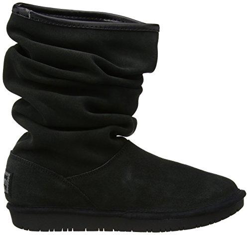 Skechers Shelbys Helsinki, Boots femme Noir (Blk)