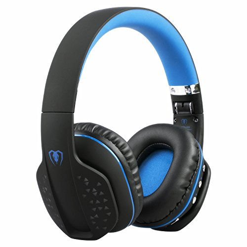 Auriculares Bluetooth, Zoron Auriculares de Juegos Inalámbricos / Alámbricos Auriculares Plegable con Micrófono Auricular Estéreo para PS4, Xbox One, portátil, móvil, PC Game