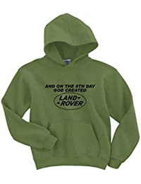 And on the 8th day God created Land Rover hoodie top