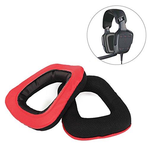 Preisvergleich Produktbild PhilMat Neues Ersatzohr polstert Schaumkissen für logitech g35 g930 g430 f450 Kopfhörer aus
