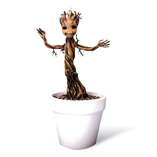 Guardians of the Galaxy - Guardiani della Galassia - Figura Action Hero Vignette di Groot piccolo - 18 cm