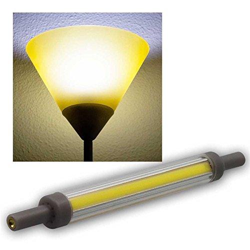 """LED Strahler R7s """"SlimLine RS118"""", 360°, 4200k, 850lm, 118mm, neutralweiß"""