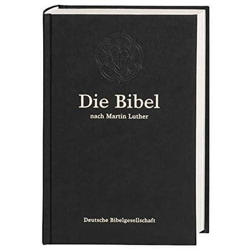 Bibelausgaben, Die Bibel nach der bersetzung Martin Luthers, ohne Apokryphen, neue Rechtschreibung, schwarz (Nr.1101) by Martin Luther(2000-03-01)