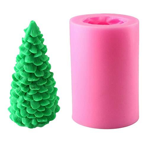 Blanchel 3D Christmas Tree Shape Silicona Fudge Mold