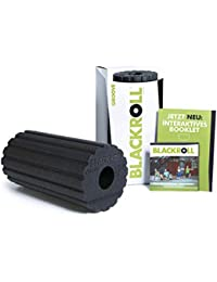 BLACK ROLL Blackroll Foam Roller Groove Standard Negro