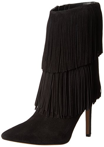 Sam Edelman Belinda - Stivali Donna, colore nero (black kid suede), taglia 37 1/2 EU (5 UK)
