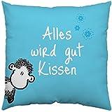 Sheepworld Baumwollkissen Alles wird gut