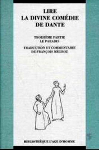 Lire La Divine Comédie de Dante, tome 3