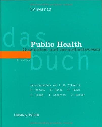 Cover »Das Public Health Buch«
