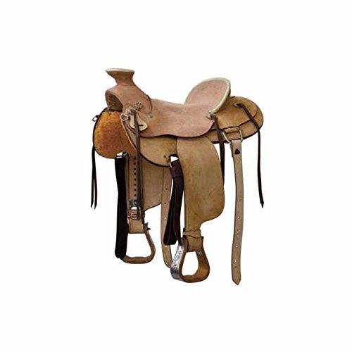 Selle western Denver modèle Wade Rough Out selle selle western Monta américaine brad-rens