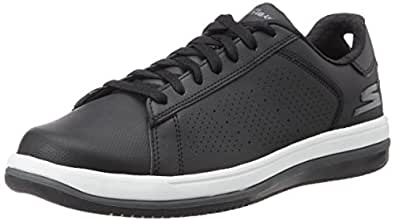 Skechers Men's On-The-Go - Element Black and White Sneakers - 6 UK/India (39.5 EU) (7 US)