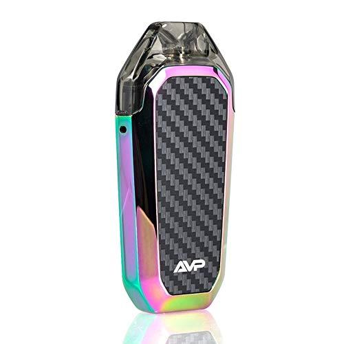 Aspire AVP 12W Pod System 700mAh 2ml Eingebauter Verdampfer Enthält Kein Nikotin, Farbe Rainbow, 1er Pack(1 x 300 g)