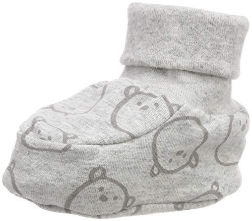 Döll Baby-Unisex Babyschuhe Jersey Socken, Grau (Light Gray Melange 8100), One Size (Herstellergröße: 0, 5)