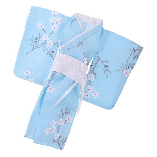 MagiDeal Wunderschöne Puppe Kimono Kleid Puppenkleidug Für 1/6 BJD Blythe Puppen - # 2