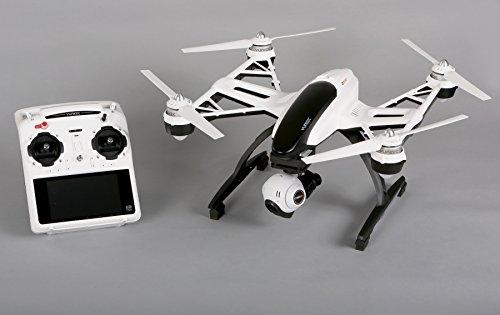 YUNEEC Q500 Typhoon Multicopter mit 12 Megapixel bzw. 1080p/60fps Full HD Kamera, mit 3-Achsen Brushless Gimbal, SteadyGrip und ST10 Fernsteuerungssystem - 4
