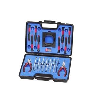 Feinmechaniker Werkzeugset 25 tlg. Uhrmacherwerkzeug Zangen Schraubendreher