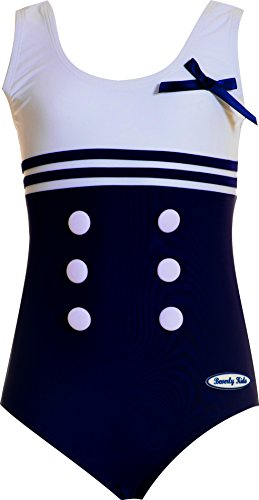 Beverly Kids Schwimmanzug Sailor Girl 128 Kinder-sailor Girl