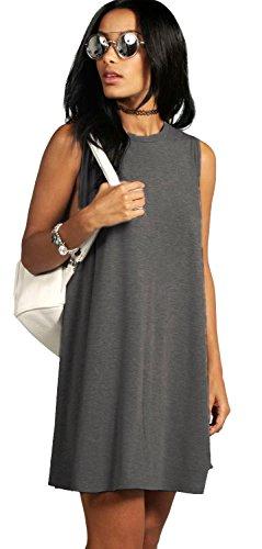 mikos-vestido-trapecio-sin-mangas-para-mujer-gris-grafito-l-xl