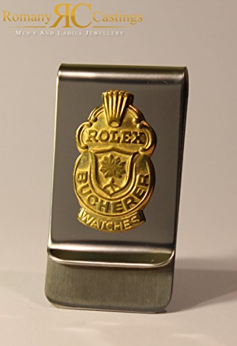 genuine-rolex-stainless-steel-money-clip-made-from-collectors-spoons-184-grams-5x2cm-dipped-in-18ct-
