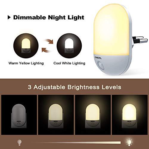 Zoom IMG-1 luce notturna bambini omeril lampada