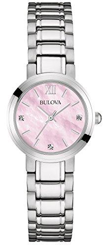 Bulova - 96P165 - Montre Femme - Quartz - Analogique - Bracelet Acier inoxydable Argent