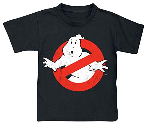 Ghostbusters Distressed Logo T-Shirt schwarz 4XL (T-shirt Ghostbusters Logo)