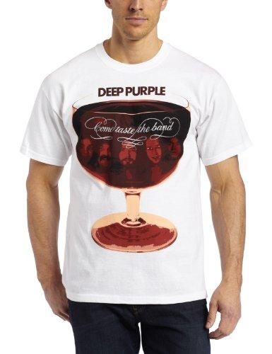 Deep Purple - Come Taste The Band (T-Shirt Unisex Tg. S) [Italia]