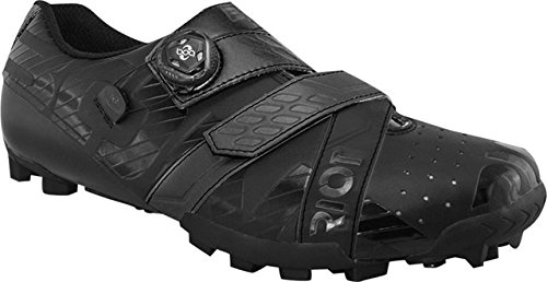 BONT Schuhe Riot MTB +, Scarpe da Mountainbike Unisex - Adulto, Nero, 43 EU