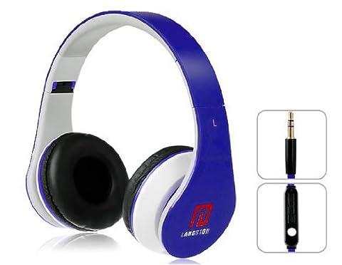 Langston ® Super Bass High Definition Sound Over Ear Foldable