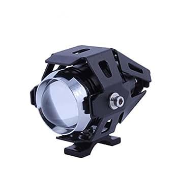 Transformateurs U5 CREE LED IP68 Motorcycle 12V Phare Brouillard lampe de lumière laser