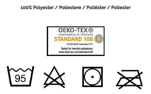 ZOLLNER® TV-Microfaser-Wohndecke / Kuscheldecke / Wolldecke mit Ärmeln 170×200 cm weinrot - 7