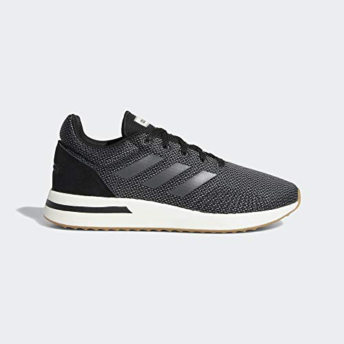 adidas Run70s, Scarpe Running Uomo, Nero Cblack/Grefiv/Carbon, 43 1/3 EU
