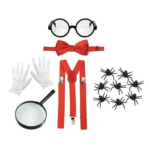 Kostüme Wissenschaftler Verrückter (Kinder Welttag Des Buches Verrückter Wissenschaftler Maskenkostüm)