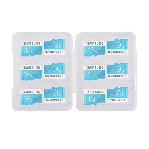 Mini-memory Card (2X Verpackung BZW. Aufbewahrung für Speicherkarten/Mini Case für 12 MicroSD Karten Memory Card Mini case/Jewel case Box Card/A - Qualität)