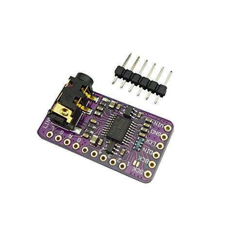 Aihasd Schnittstelle I2S PCM5102 DAC Decoder GY-PCM5102 I2S Spieler-Modul f¨¹r Raspberry Pi pHAT Format Digitales Audio-Board