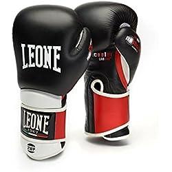 León 1947El técnico, guantes boxeo unisex adulto, Unisex adulto, Il Tecnico, negro, 14OZ