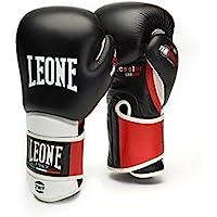 Leone 1947 Il Tecnico, Guantes de Boxeo Unisex – Adulto, Negro, 14 oz