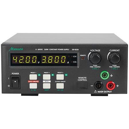 8320 Usb (Manson Laborschaltnetzteil SSP-8320 (0-42 V / 0-20 A) mit USB-Schnittstelle, programmierbar)