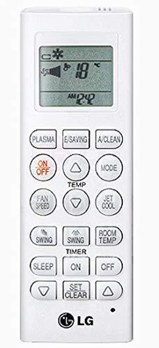 LG pqwrhq0fdb IR Wireless Drücken Sie die Tasten weiß Fernbedienung-Fernbedienungen (IR Wireless, weiß, Klimagerät, LG, Drücken Sie die Knöpfe, AA) Lg 26